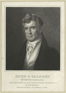 Charles Bird King - John C. Calhoun of South Carolina, Vice President of the United States, and President of the Senate