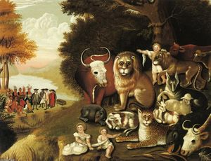 Edward Hicks - A Peaceable Kingdom