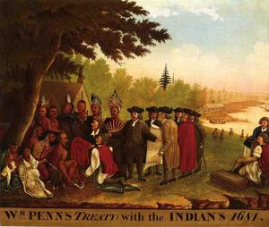 Edward Hicks - Penn-s Treaty