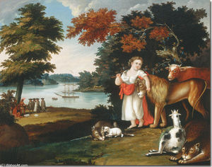 Edward Hicks - The Peaceable Kingdom 1