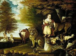 Edward Hicks - The Peaceable Kingdom 2