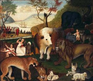 Edward Hicks - The Peaceable Kingdom 4