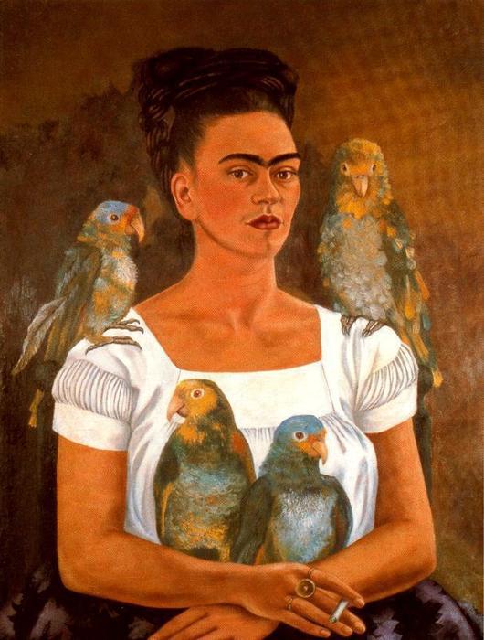 léon trotsky et frida kahlo