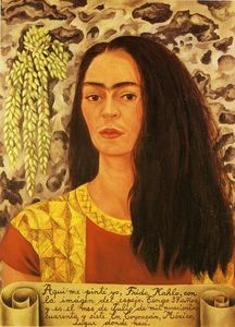 Frida Kahlo - Self-Portrait with Loose Hair