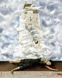Frida Kahlo - The Suicide of Dorothy Hale