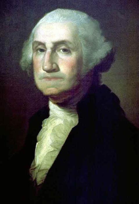Portrait of George Washington 2, Oil by Rembrandt Peale (1778-1860, United States)