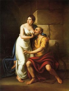 Rembrandt Peale - The Roman Daughter