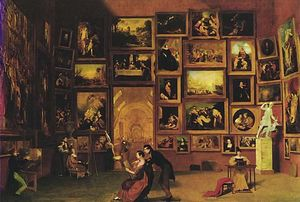 Samuel Finley Breese Morse - Gallery of the Louvre
