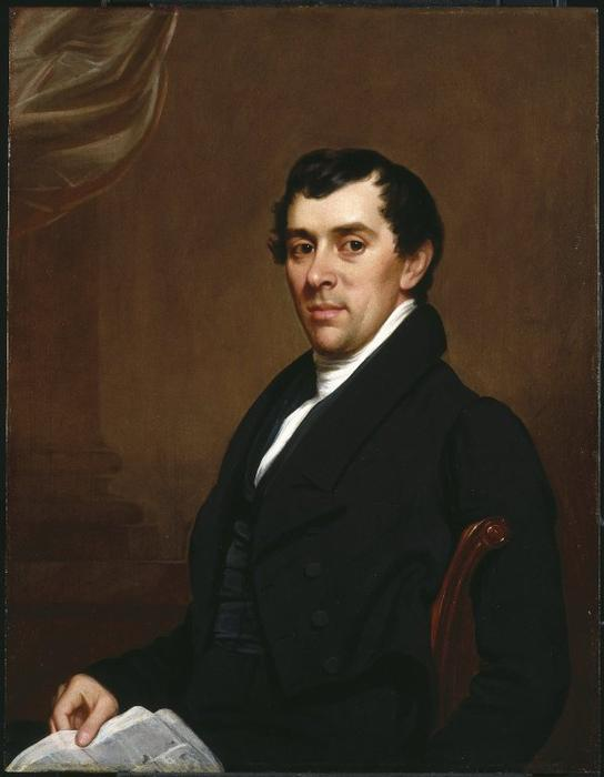 David Leavitt by Samuel Lovett Waldo (1783-1861, United States) | Art Reproductions Samuel Lovett Waldo | WahooArt.com