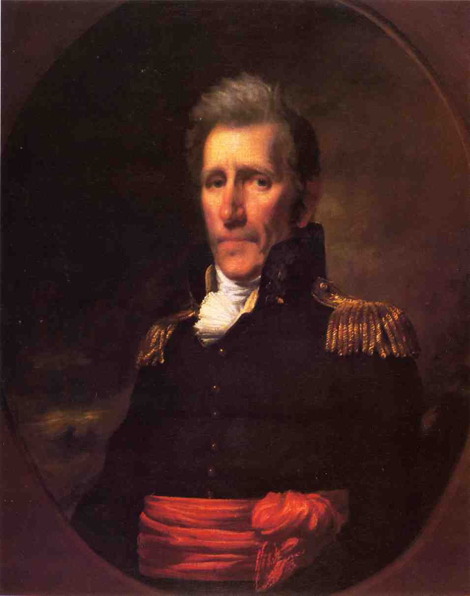 Major General Andrew Jackson by Samuel Lovett Waldo (1783-1861, United States) | Reproductions Samuel Lovett Waldo | WahooArt.com