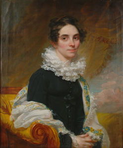Samuel Lovett Waldo - Portrait of Lucinda Mack