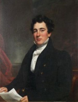 Portrait of Mr. Nathan Button by Samuel Lovett Waldo (1783-1861, United States) | Reproductions Samuel Lovett Waldo | WahooArt.com