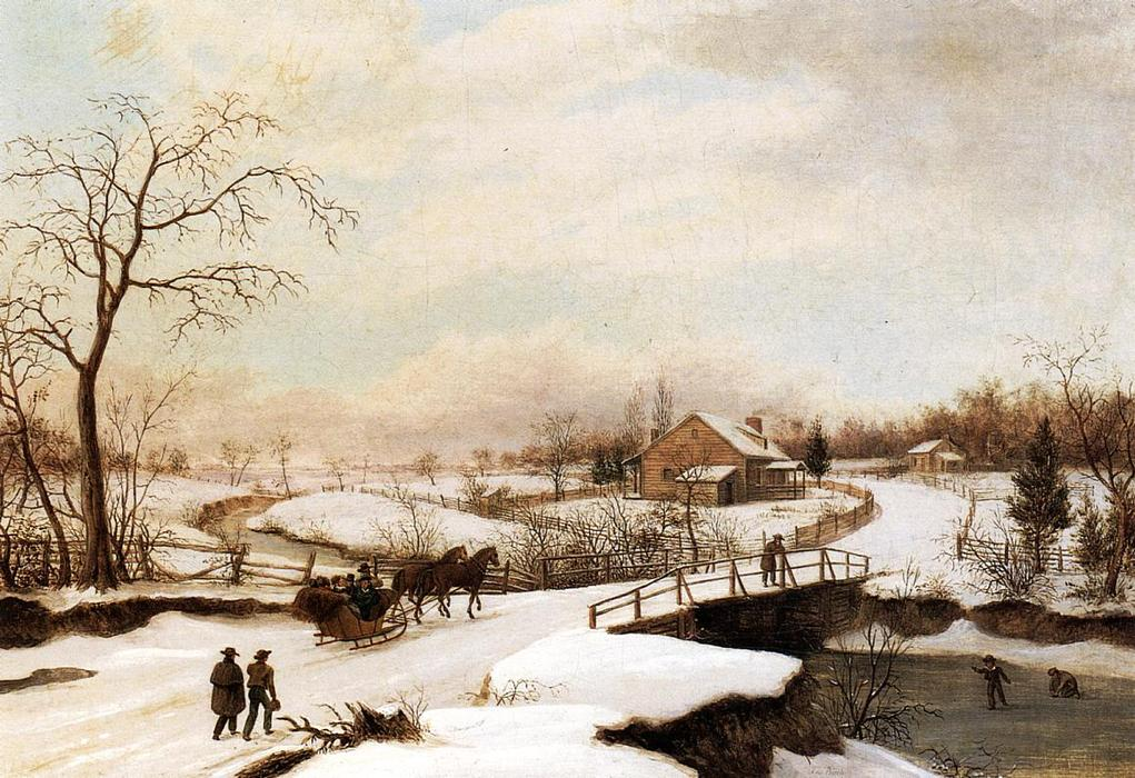 What Colors Do You Use When Painting A Winter Scene