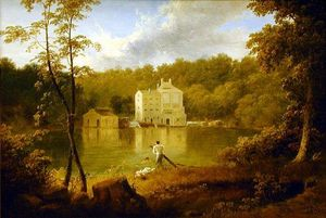 Thomas Doughty - Gilpin's Mill on the Brandywine