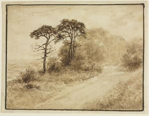 Thomas Doughty - Landscape with Winding Road