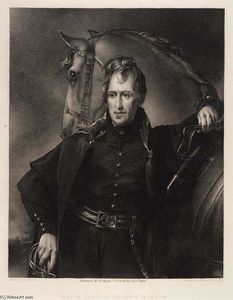 Thomas Sully - Major General Andrew Jackson