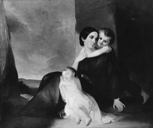 Thomas Sully - Mrs John Hill Wheeler And Her Two Sons