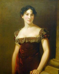 Thomas Sully - Mrs. John Meyers (Catherine Mierckin)