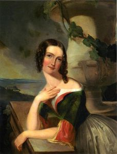 Thomas Sully - Portait of Elizabeth Warton Mrs William J McCluney