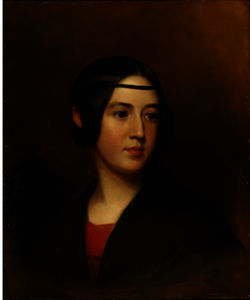 Thomas Sully - Portrait of Blanch Sully