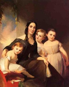 Thomas Sully - Portrait of Mrs. James Robb and Her Three Children