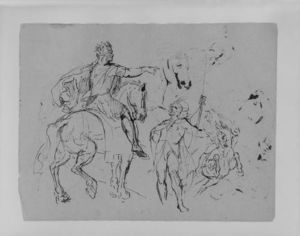 Thomas Sully - Sketch 15