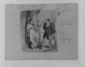 Thomas Sully - Sketch 16