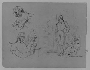 Thomas Sully - Sketch 18
