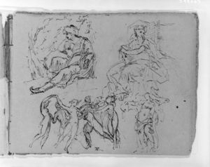 Thomas Sully - Sketch 33