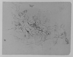 Thomas Sully - Sketch 36