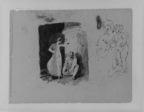 Sketch 5 by Thomas Sully (1783-1872, United Kingdom) | Reproductions Thomas Sully | WahooArt.com