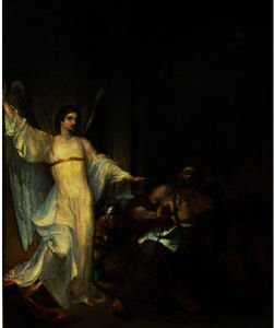 Washington Allston - Angel Releasing St. Peter from Prison