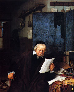 Adriaen Van Ostade - Lawyer In His Study