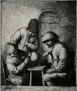 Adriaen Van Ostade - The Empty Jug