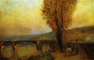 Albert-Charles Lebourg (Albert-Marie Lebourg) - Bridge and Rider