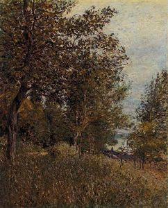 Alfred Sisley - A Corner of the Roches Courtaut Woods, June