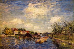 Alfred Sisley - By the Loing