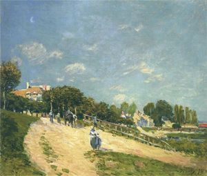 Alfred Sisley - Landscape at Andresy