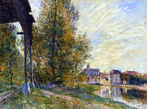 Alfred Sisley - Near Moret sur Loing