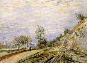 Alfred Sisley - On the Road from Moret
