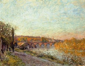 Alfred Sisley - The Sevres Bridge 1