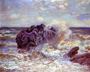 Alfred Sisley - The Wave, Lady-s Cove, Langland Bay