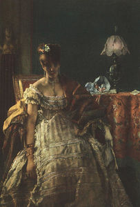 Alfred Stevens - The Desperate Woman