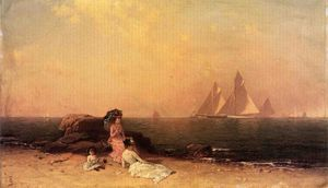 Alfred Thompson Bricher - Afternoon at the Shore