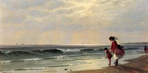 Alfred Thompson Bricher - At the Shore