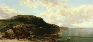 Alfred Thompson Bricher - Beach Scene