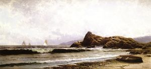 Alfred Thompson Bricher - Breaking Surf