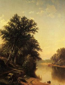 Alfred Thompson Bricher - By the River