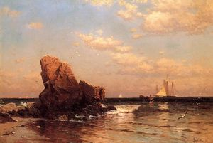 Alfred Thompson Bricher - By the Shore