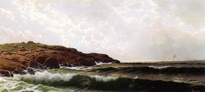 Alfred Thompson Bricher - Morning at Sakonnet, Rhode Island